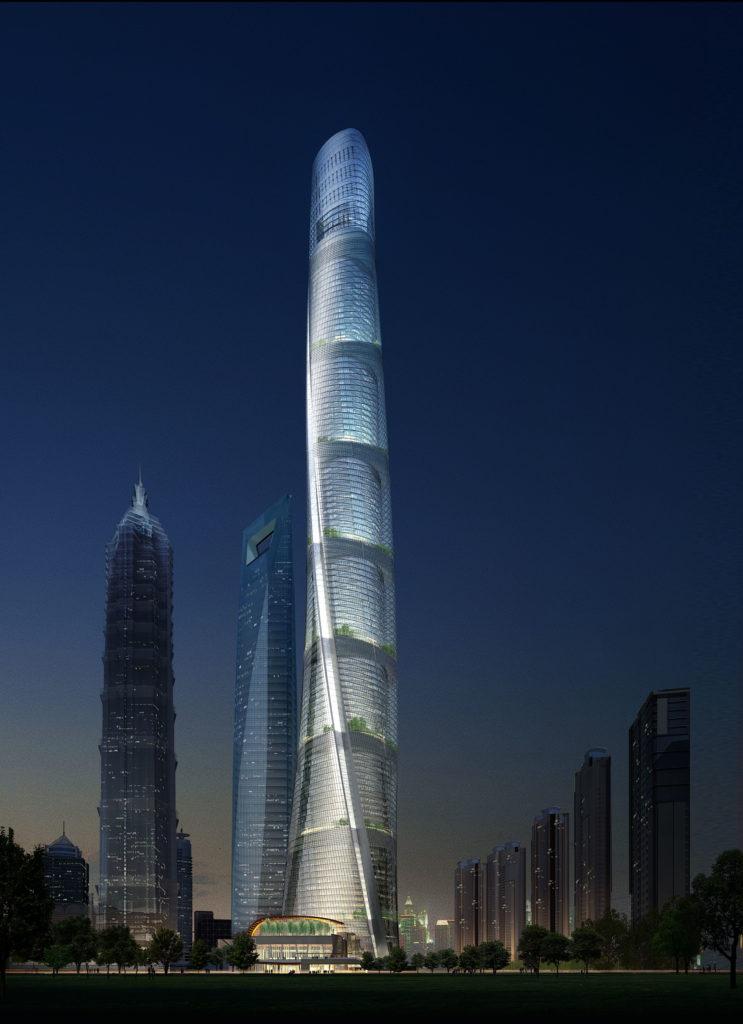 SentryGlas® interlayer gets  stuck into The Shanghai Tower