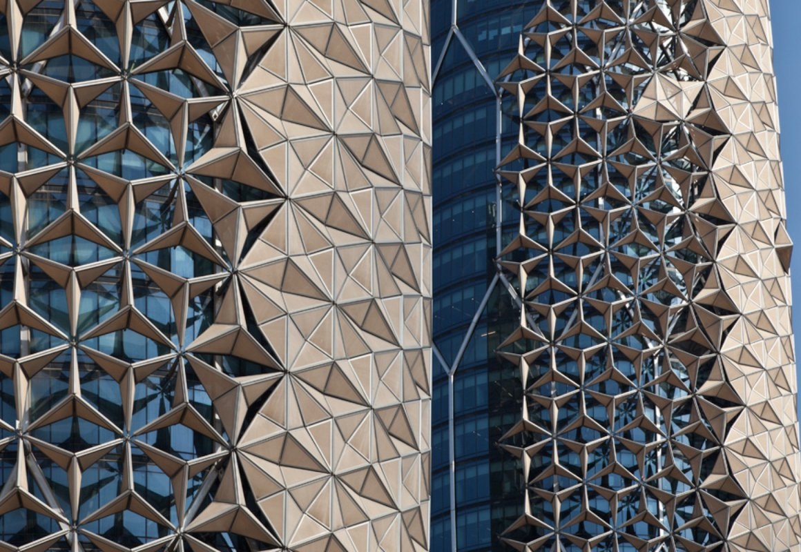 The Al Bahar Towers Shading The Real Envelope Igs