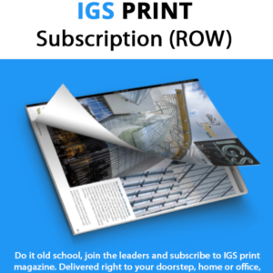 IGS Mag | Intelligent Glass Solutions | Subscription | Print Magazine | ROW