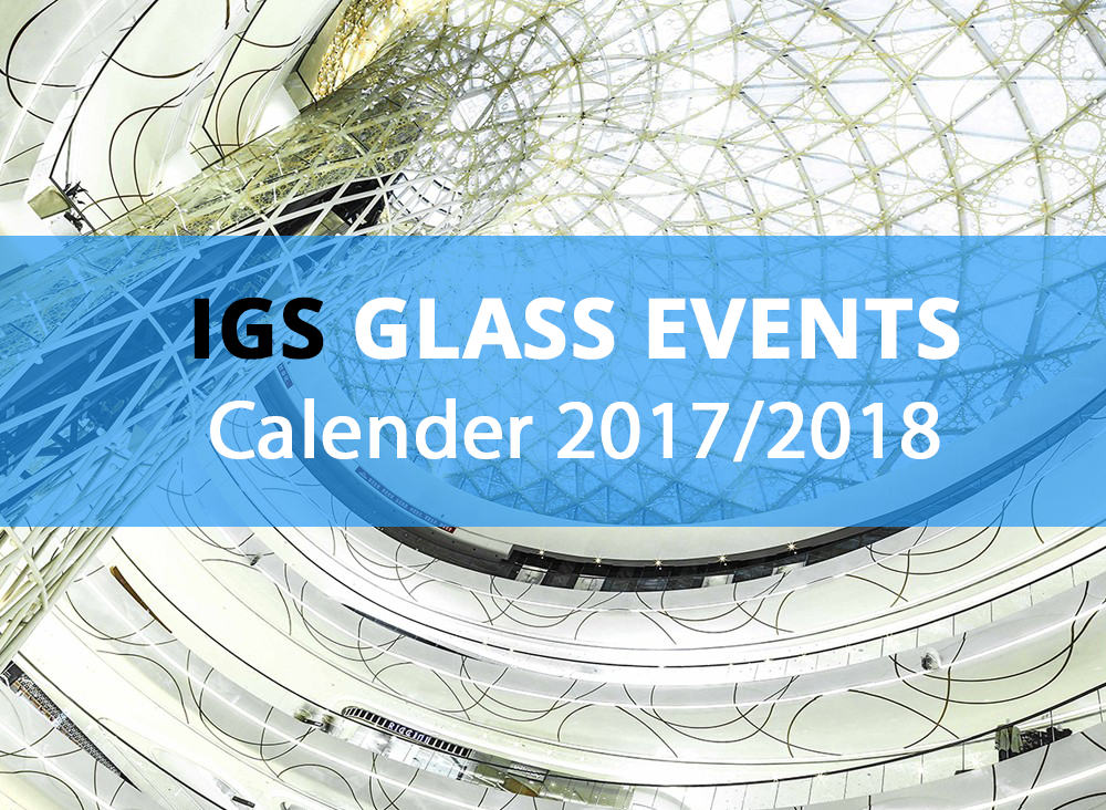 Glass Events Calender 2017 2018 Igs
