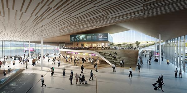 UNStudio   Kutaisi International Airport   IGS Magazine   Rendering   Expansion   Architecture