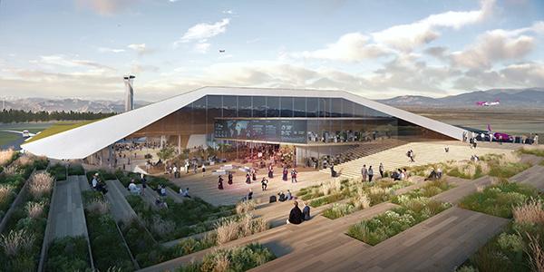 UNStudio   Kutaisi International Airport   IGS Magazine   Rendering   Expansion   Architecture   Exterior rendering