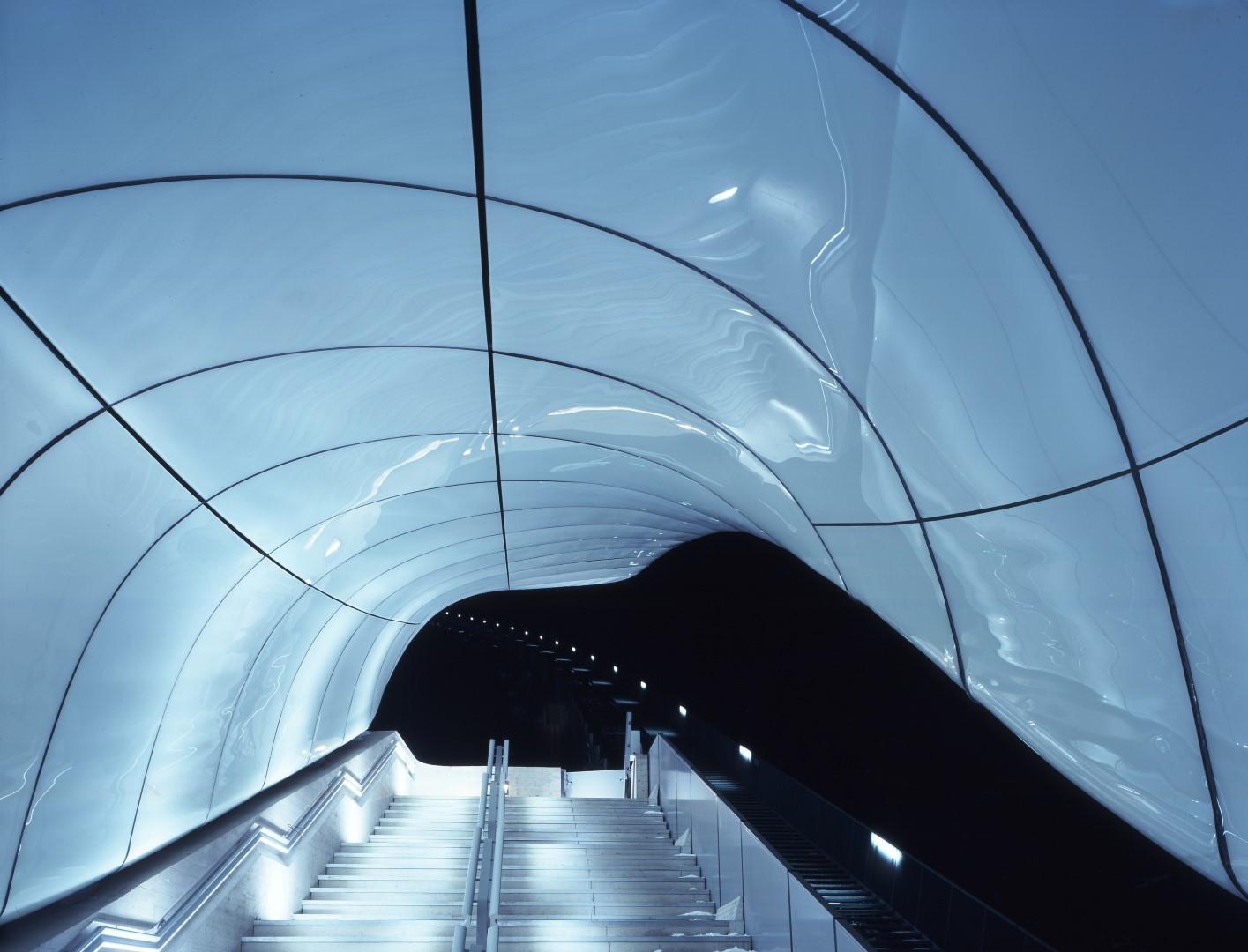 Hungerburg Station   Zaha Hadid Architects   IGS Mag   Press Release   Interior
