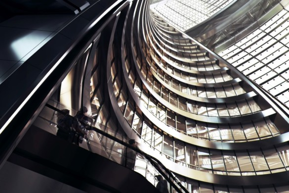 Inside the Extraordinary 190m Atrium (World Tallest) Designed by Zaha Hadid Architects