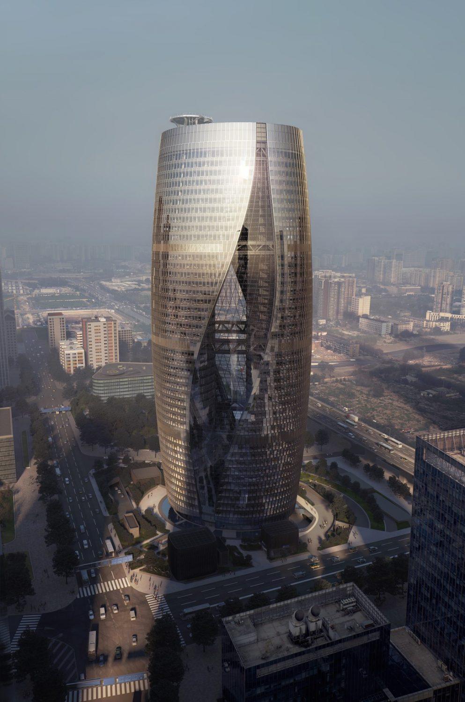 Leeza Soho   Dusk   Render   Zaha Hadid Architects   IGS Magazine