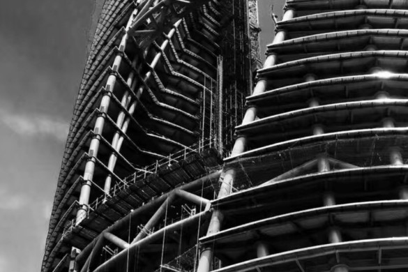 Leeza Soho | Dusk | Construction | Zaha Hadid Architects | IGS Magazine