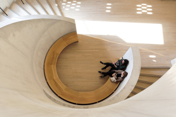 Forward Installation at the Tate Modern   Ramboll   Blavatnik Building, Switchhouse Extension of the Tate Modern   SFE Awards   IGS Magazine   Interior staircase