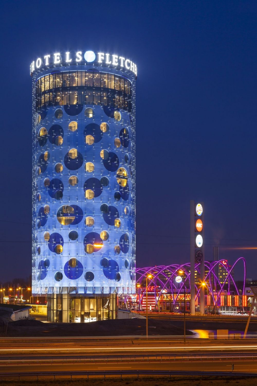 Fletcher Hotel - Benthem Crouwel Architects - Printed Glass - Facade - IGS Magazine - 7