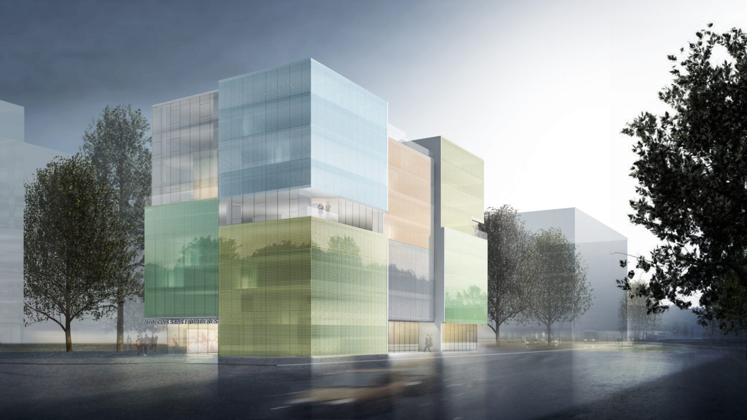 Photovoltaic Glass Building for Doctors Without Borders' Geneva Office, Steven Holl Architects, IGS Magazine, 2
