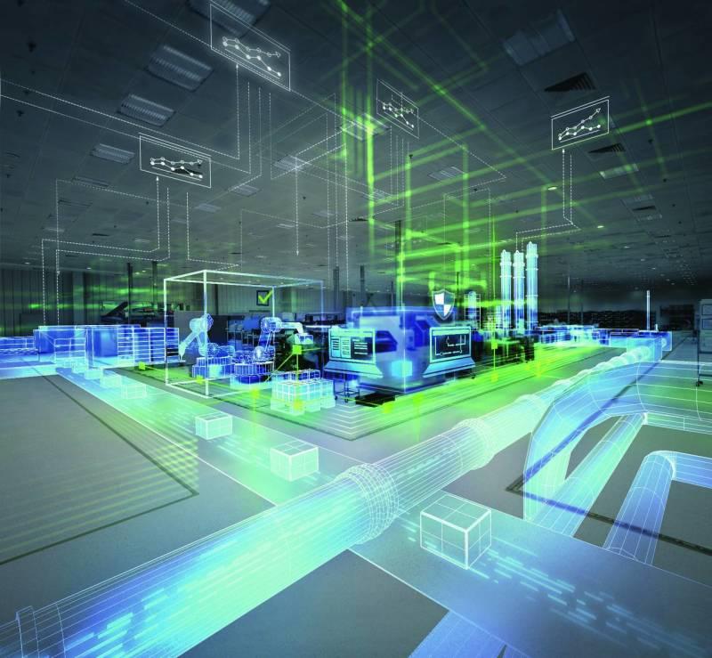 Siemens AG, Glass, Digitalization, IGS Magazine, Cover image,2