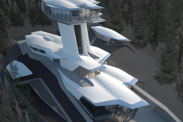 Zaha Hadid's Only Private Architectural Residential Design Is Now Completed