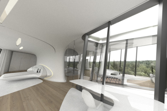 Capital Hill Residence - Zaha Hadid - IGS Magazine - Russia - Private - Architecture - 19