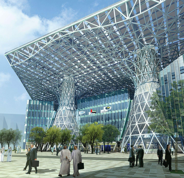 IGS Magazine-Masdar-Headquarters-Adrian-Smith-Gordon-Gill-Architecture-Carbon Neutrl-2