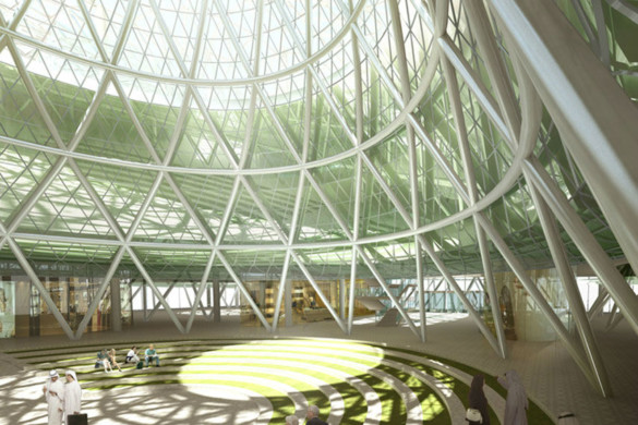IGS Magazine-Masdar-Headquarters-Adrian-Smith-Gordon-Gill-Architecture-Carbon Neutrl-8