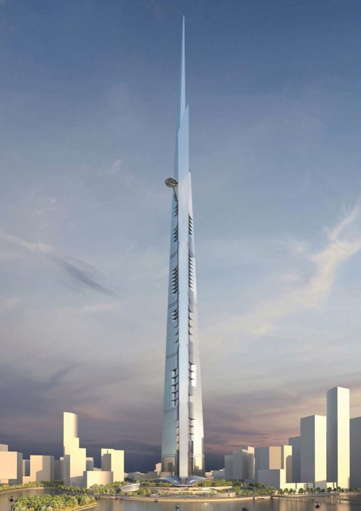 Jeddah Tower © Adrian Smith + Gordon Gill Architecture