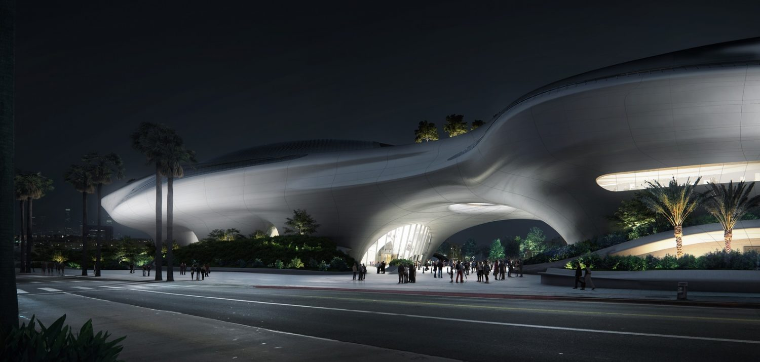 Lucas_Museum_of_Narrative_Art_-_Night_View_courtesy_of_MAD_Architects-IGS Magazine