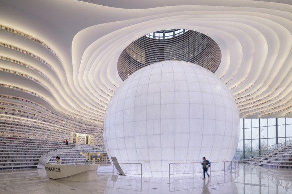 Tianjin Binhai Library | MVRDV + Tianjin Urban Planning and Design Institute