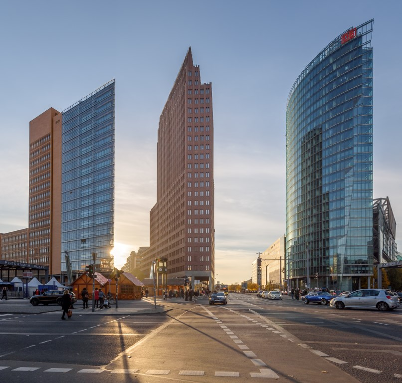 Forum Tower, Kollhoff-Tower, BahnTower