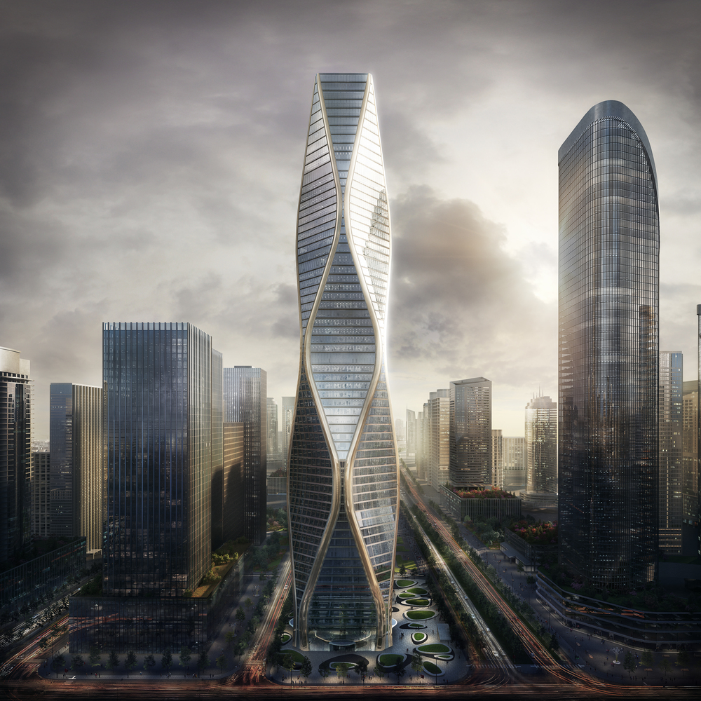 SOM Architects - Tower - China - Hangzhou - IGS Magazine - Press Release - 12