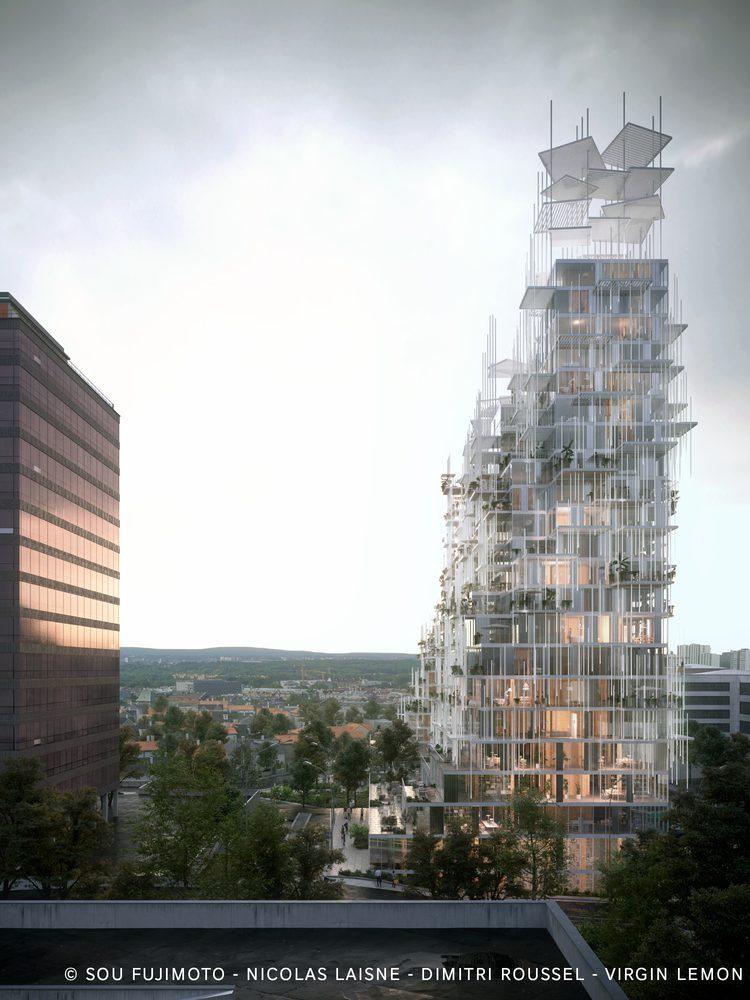 Sou Fujimoto Nicolas Laisné and Dimitri Roussel - Village Vertical - in Grand Paris - IGS Magazine - 2