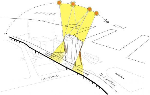 Studio Gang's High Line-Adjacent 'Solar Carve' Tops Out