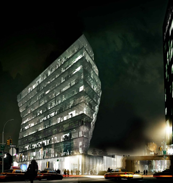 Studio Gang's Solar Carve Tower Tops Out in New York City - IGS Magazine - Architecture -17