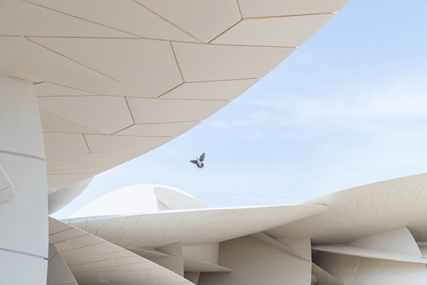 Jean Nouvel's National Museum of Qatar - IGS Magazine - Iwan Baan - 2