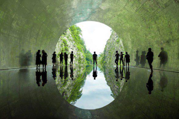 17_MAD_Echigo_Tsumari_Tunnel_of_Light_Light_Cave_by_Osamu_Nakamura