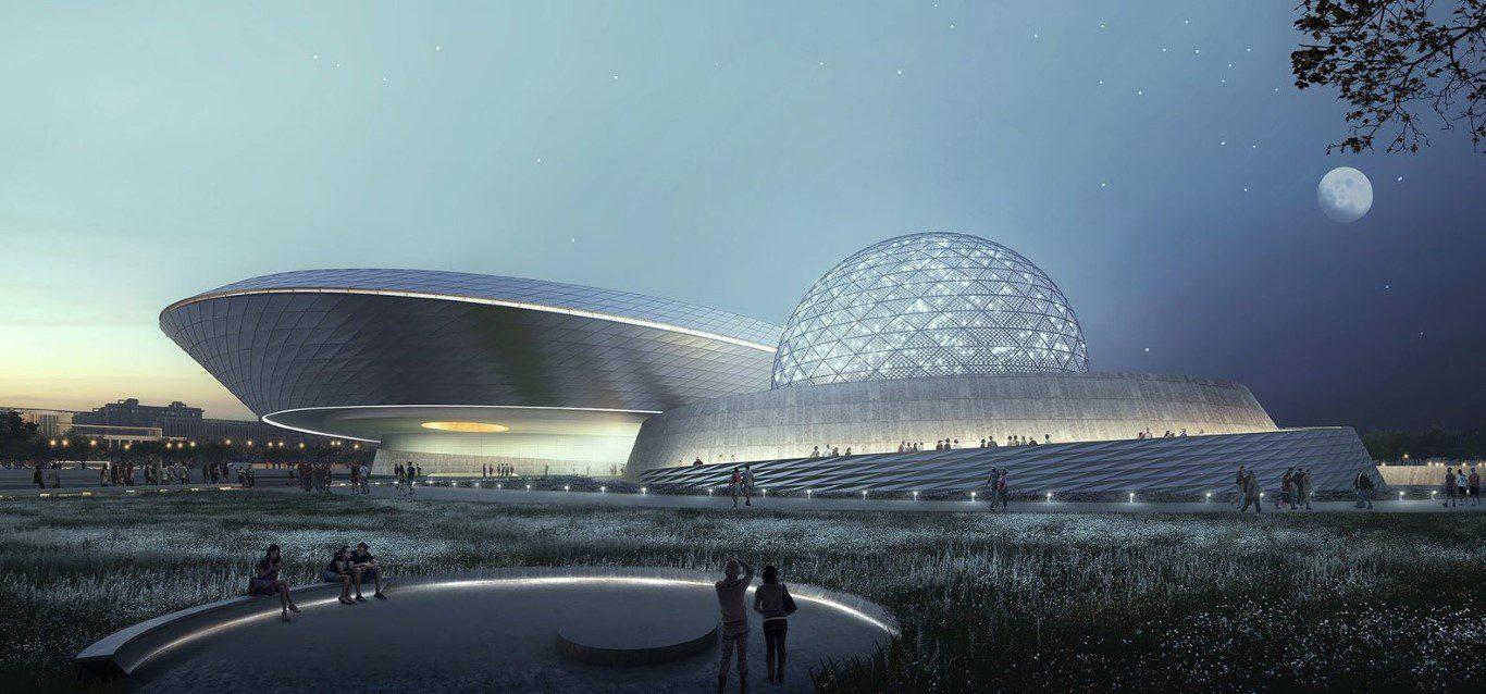 Shanghai Planetarium-Construction Progress-IGS Magazine-VIdeos-3