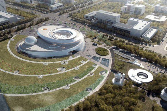 Shanghai Planetarium-Construction Progress-IGS Magazine-VIdeos-6