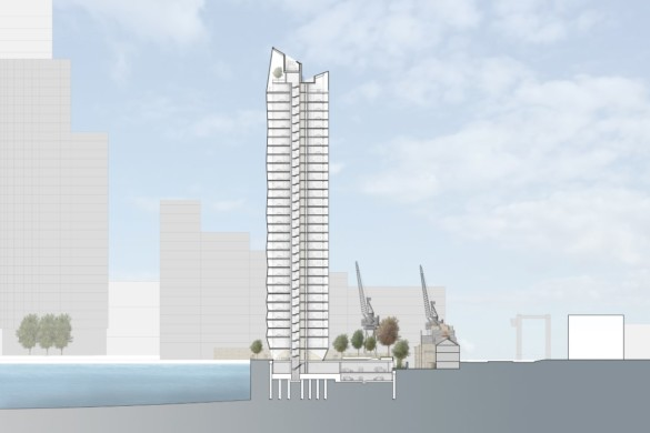 SimpsonHaugh's Dollar Bay Provides a Striking Addition to Canary Wharf's Impressive Skyline.
