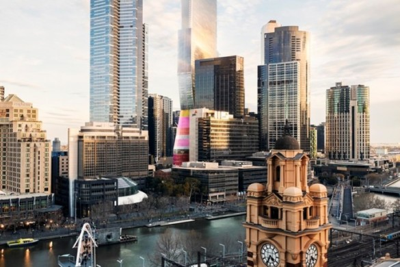 UNStudio Beats World Class Competition to Design Australia's Tallest Skyscraper