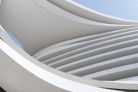 IGS Through the Lens (Part 11): Andres Gallardo Captures the Curves of Zaha Hadid's Galaxy Soho