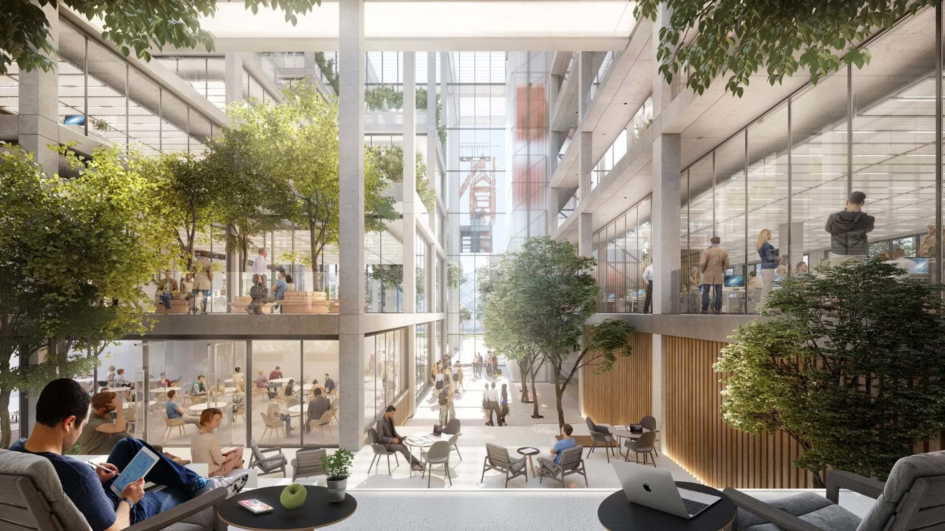 Designs for Belval Building unveiled-Foster and Partners-IGS Magazine- Press - 2