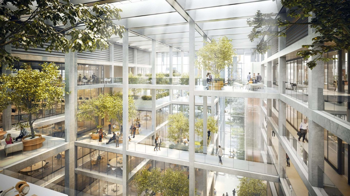 Designs for Belval Building unveiled-Foster and Partners-IGS Magazine- Press - 3