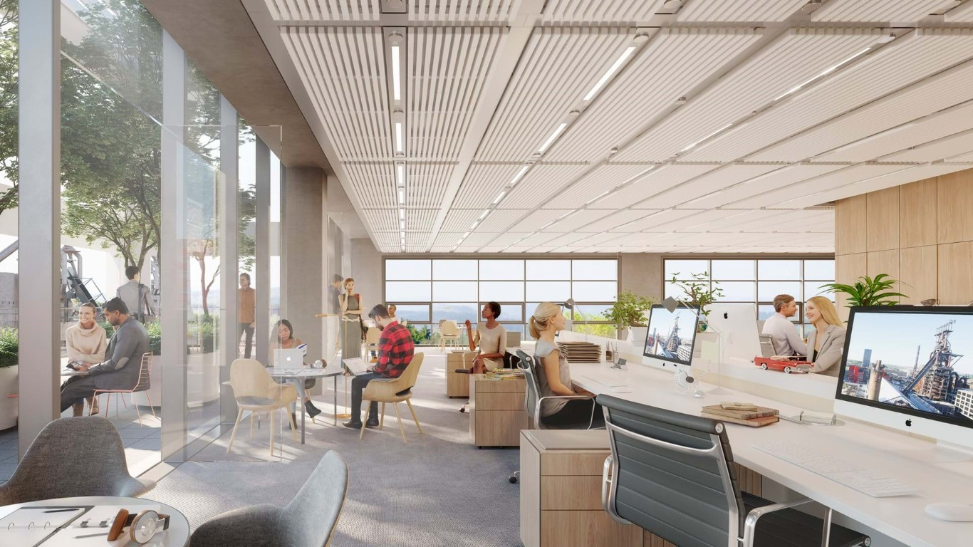 Designs for Belval Building unveiled-Foster and Partners-IGS Magazine- Press - 4