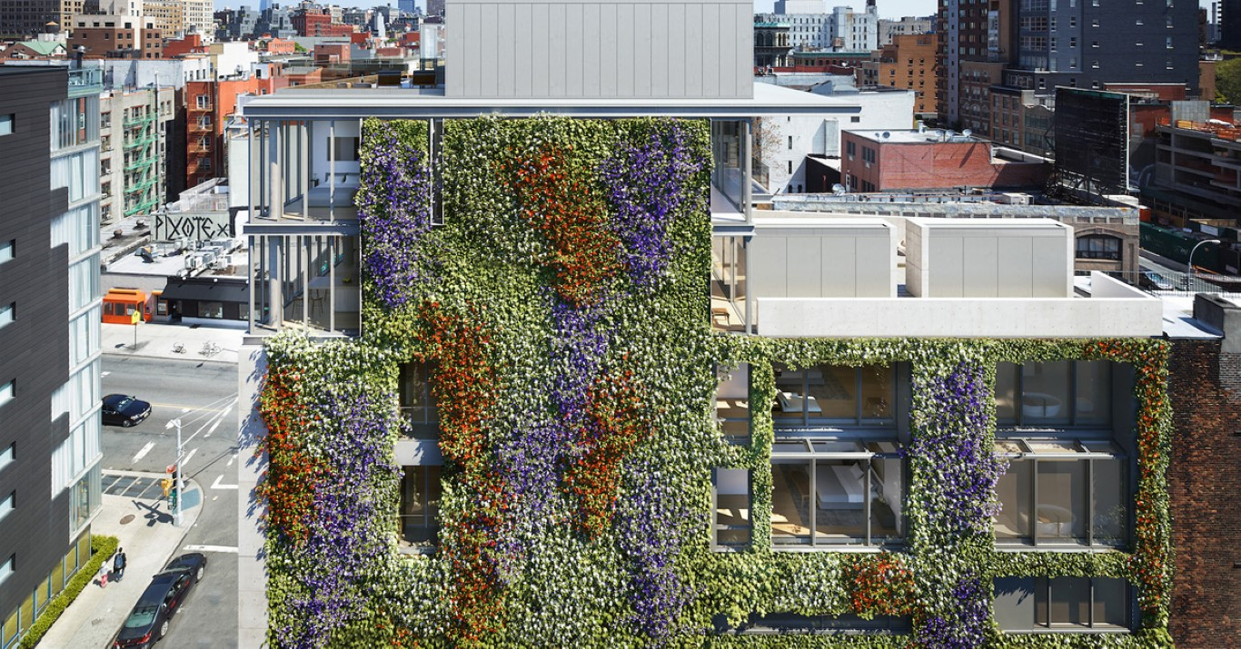 Green Walls - How Technology Brings Nature Into Architecture - IGS Magazine - opinion - 2