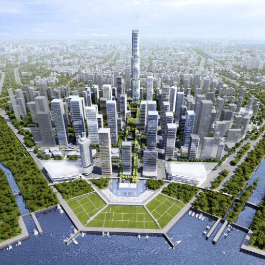 Roger stirk harbour - green skygarden - press release - igs magazine - 3