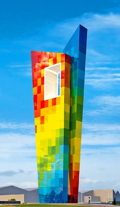 Multi-Colored Monument Clearly Reflects Local Culture and Industry - IGS Magazine -architecture - 3