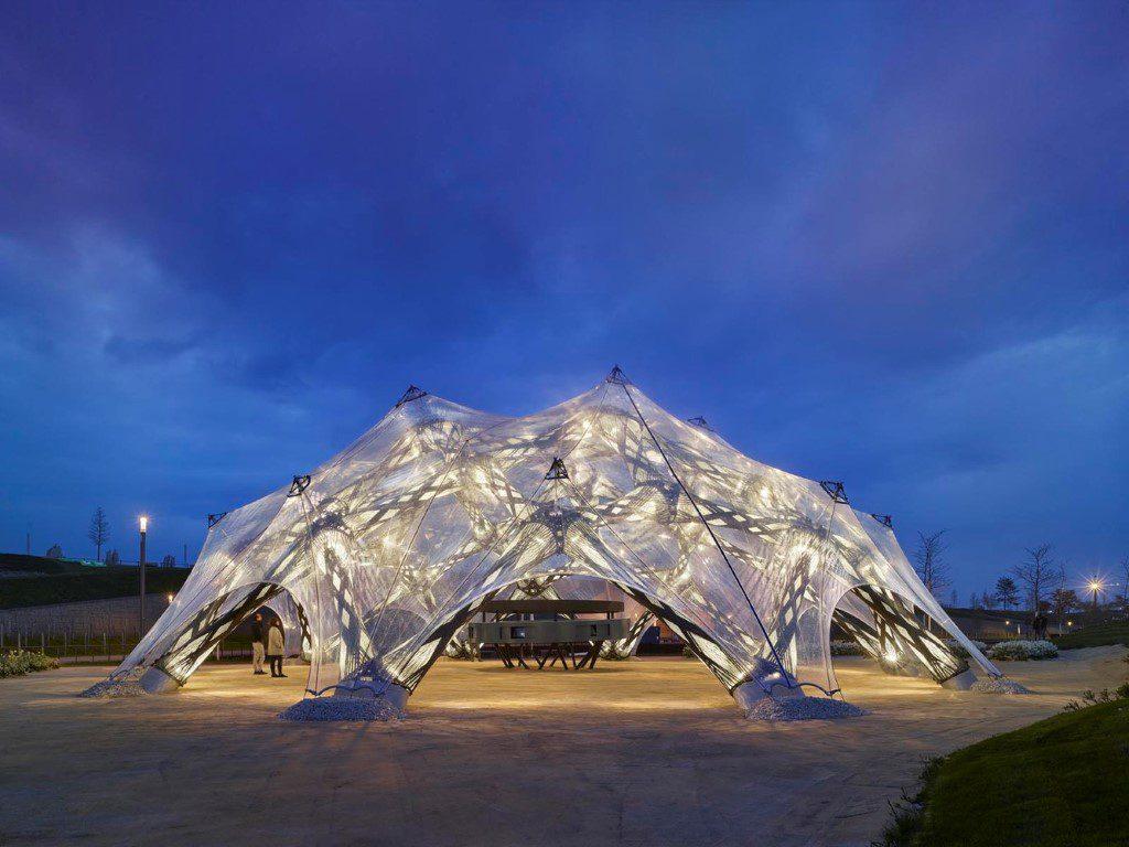 BUGA Fibre Pavilion ICD ITKE University of Stuttgart