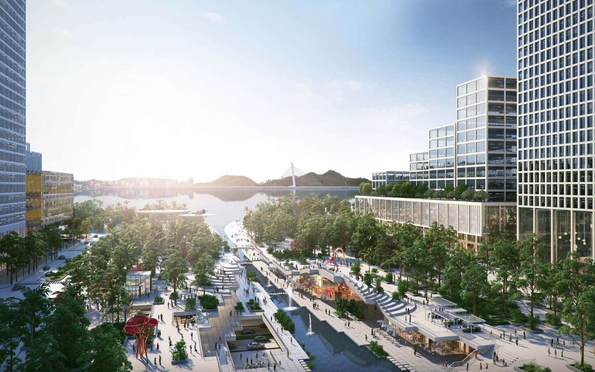 Henning Larsen Among Winning Teams to Design Shenzhen Bay Headquarters City in China - 2
