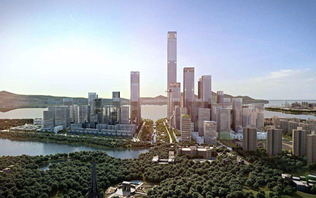 Henning Larsen Among Winning Teams to Design Shenzhen Bay Headquarters City in China - 3