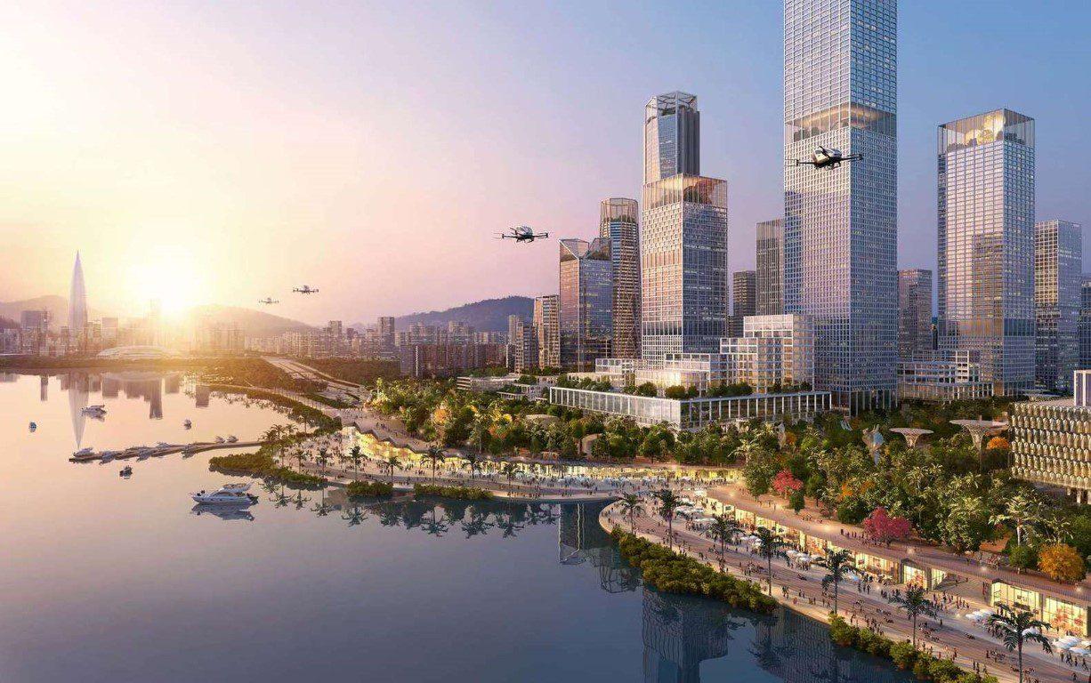 Henning Larsen Among Winning Teams to Design Shenzhen Bay Headquarters City in China - 4