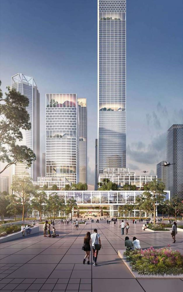 Henning Larsen Among Winning Teams to Design Shenzhen Bay Headquarters City in China - 5