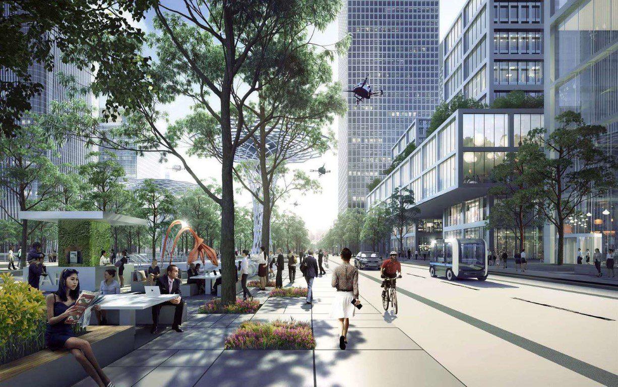 Henning Larsen Among Winning Teams to Design Shenzhen Bay Headquarters City in China - 8