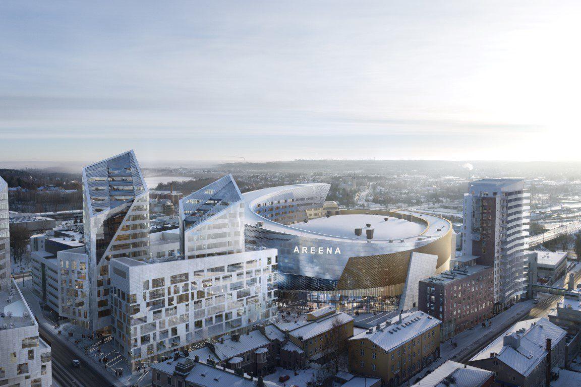 Etelästä Kansi ja areena Tampere