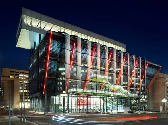 RSHP designed The International Spy Museum Opens to the Public 9