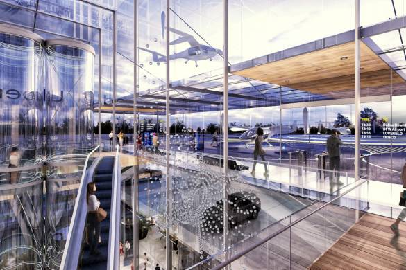 Humphreys & Partners Architects Reveal New Designs for Uber Air Skyports