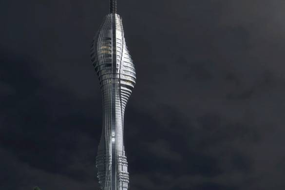 Istanbul's Futuristic Supertall TV Tower Nears Completion 1