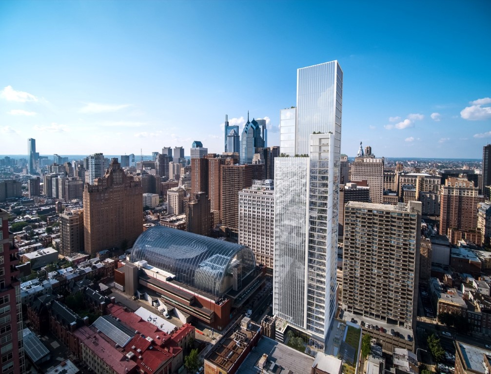 KPF Celebrates Groundbreaking of the Firm's First Residential Tower in Philadelphia_2
